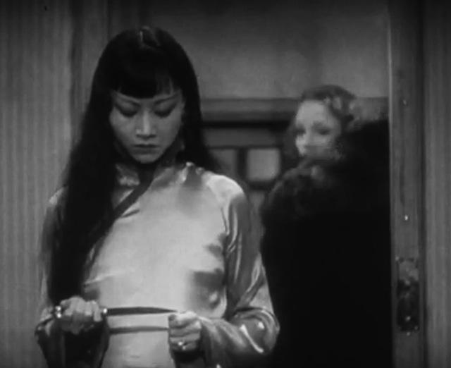 Anna May Wong 2 Marlene Dietrich Shanghai Express
