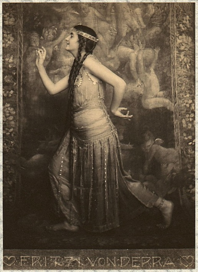 fritzi-von-derra-the-oriental-dancer-1900s